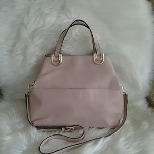 Vince Camuto Lue Satchel Cameo rose